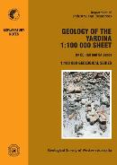 Geology of the Yardina 1:100 000 sheet