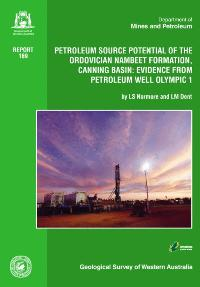 Petroleum source potential of the Ordovician Nambeet Formation, Canning Basin: evidence from petroleum well Olympic 1